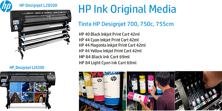 hp ink original media