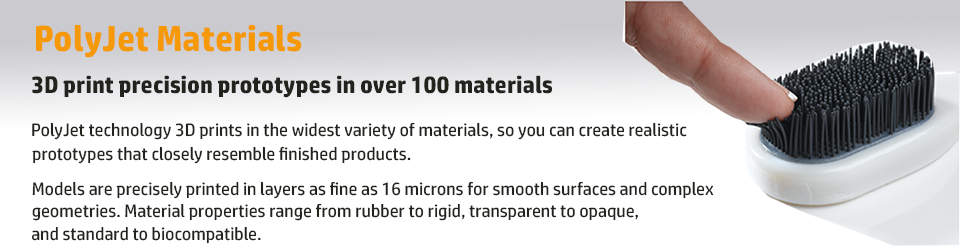 PolyJet Materials